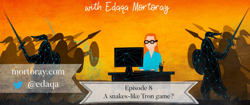 Cover image for Evening Rust: Episode 8: A snakes-like Tron game?