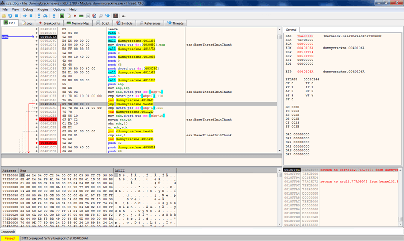 x64dbg debugger