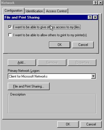 Enabling file and print sharing pt2