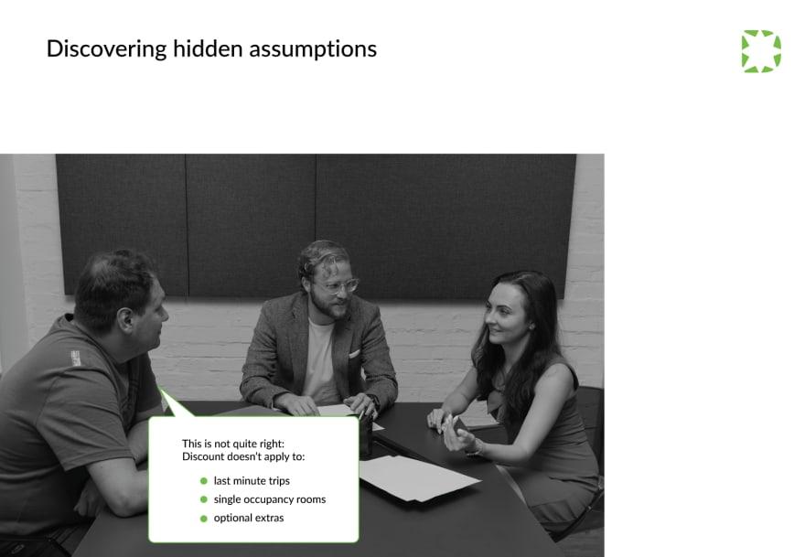 QA-for-development-discovering-hidden-assumptions