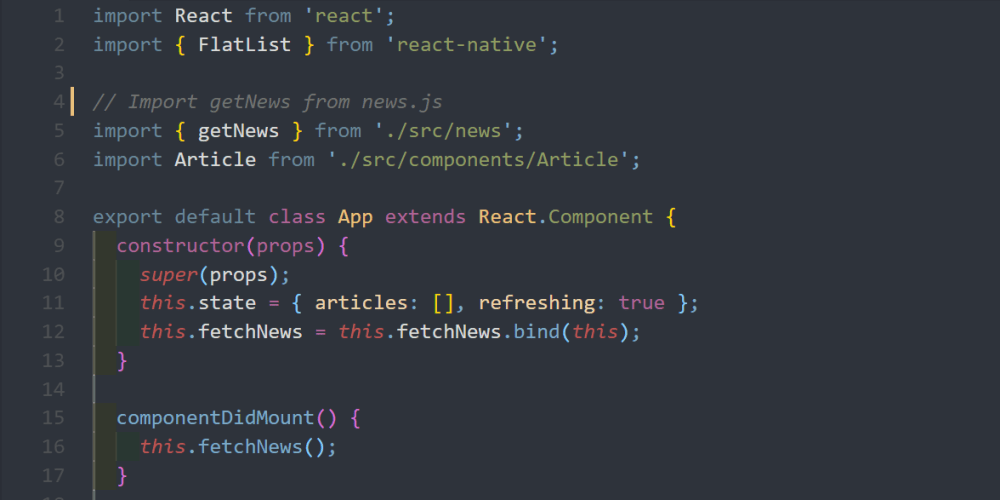 How to build a news app with JavaScript and React Native