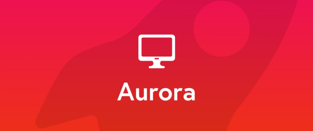 Cover image for Meet Aurora - New Framework7 Desktop Theme
