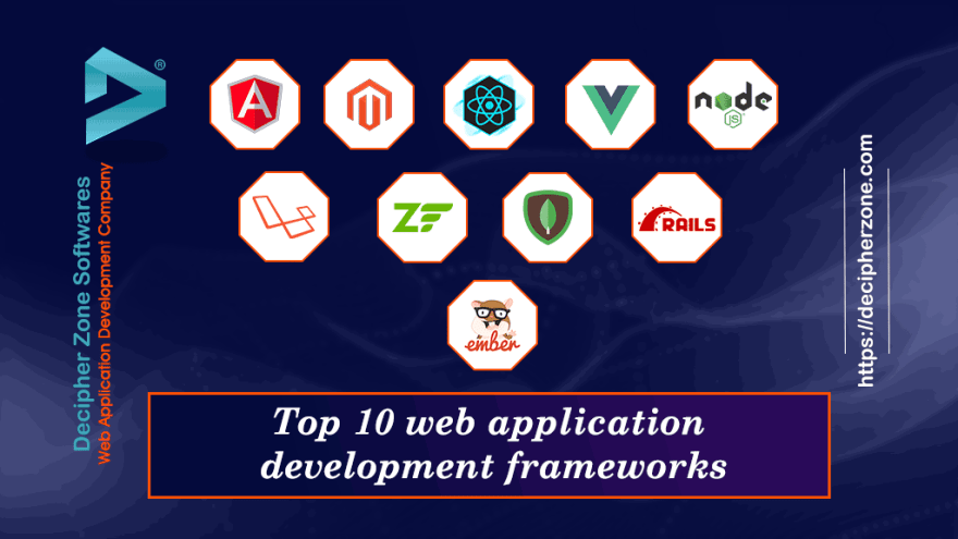 top frameworks for web app development