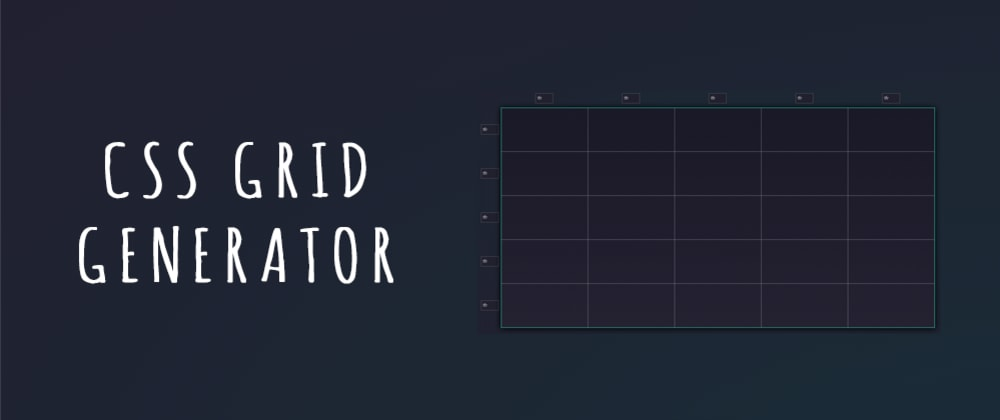 Cover image for Learn how to use CSS Grid with a FREE tool CSS Grid Generator