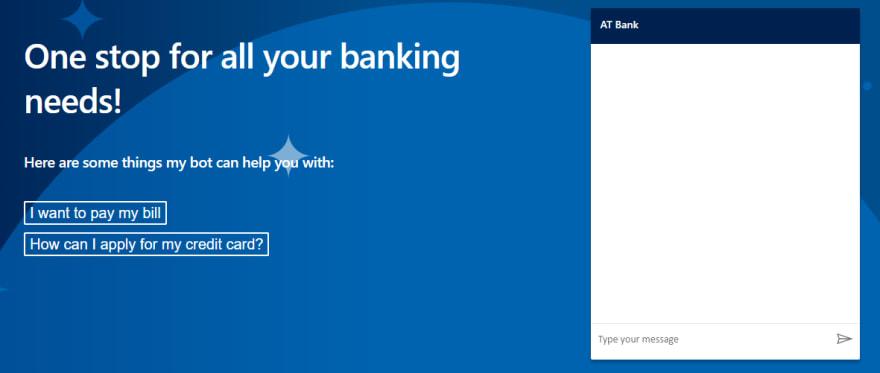 AT Bank - Dynamics 365 Virtual Agent for Customer Service