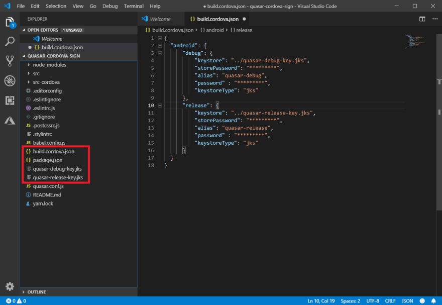 VSCode - Project View
