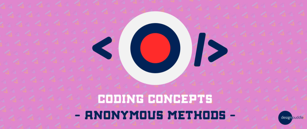 Cover image for Coding Concepts - Anonymous Functions