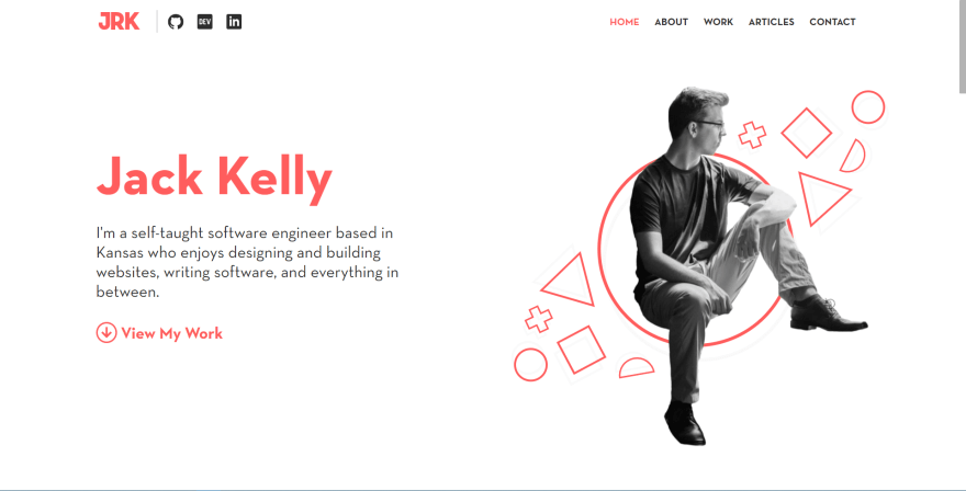 Jack Kelly's Portfolio Website