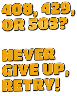 Never Give Up, Retry: How Software Should Deal with Failures