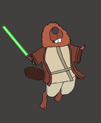 Jedi Beaver