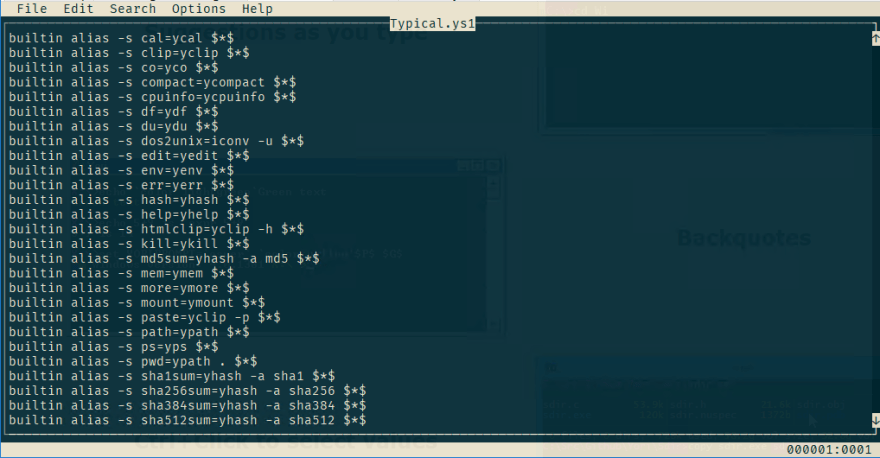 A new text editor for editing text files in the terminal