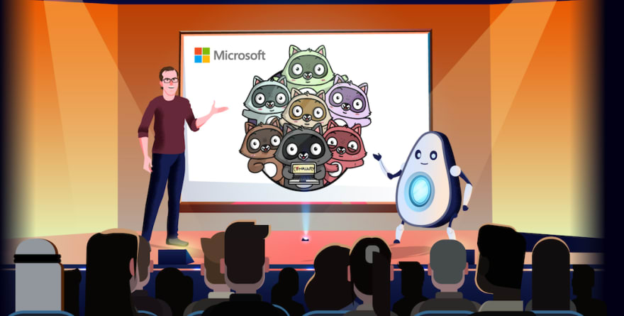 Cartoon Henk and CyberCado