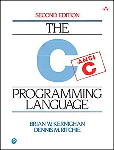 Amazon.com: C Programming Language, 2nd Edition (8601410794231): Brian W.  Kernighan, Dennis M. Ritchie: Books