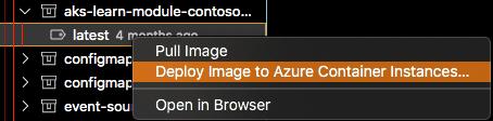 Deploy de imagens Docker: Do VSCode para a Azure