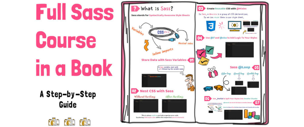 Cover image for Sass Crash Course in a Book