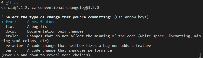 Commit fields