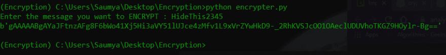 python password encryption