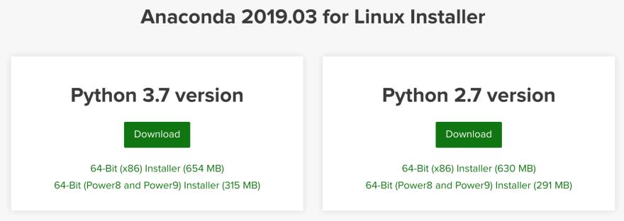 Anaconda Python 3.0