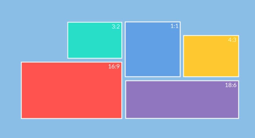 Ejemplos de aspect ratio