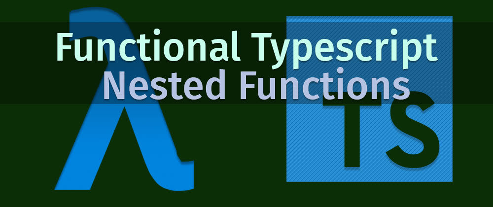 Cover image for Functional Typescript
