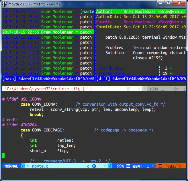 terminal on Windows