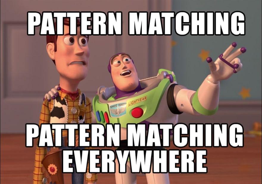 Elixir pattern matching meme