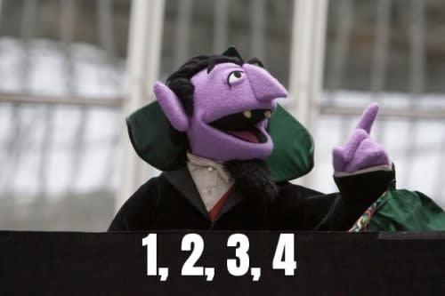 Count von Count counts
