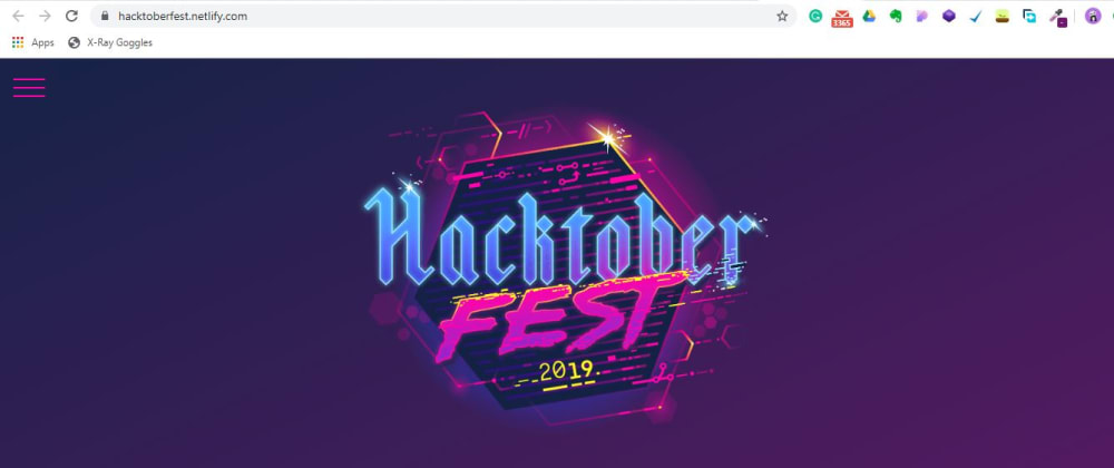 Cover image for Hacktoberfest2019