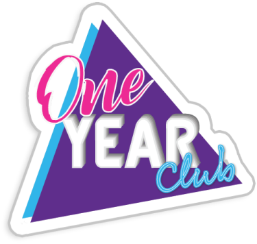 One Year Club badge