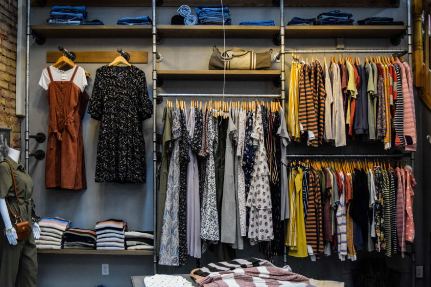Many Depop users just want to sell the used clothes in their closet
