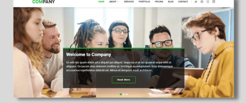 Cover image for Source Code Web Company Profile (Laravel 8 & Bootstrap)
