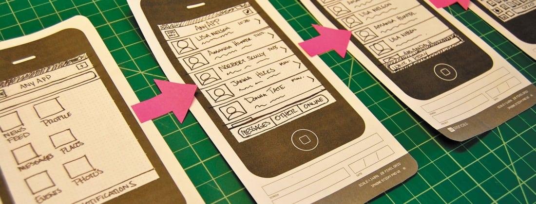 Mobile App Design - Magazine cover