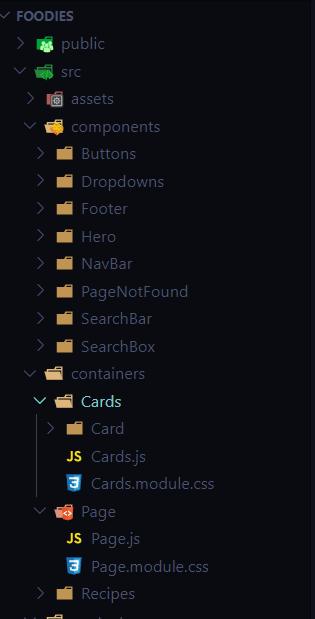Screenshot of File Structure