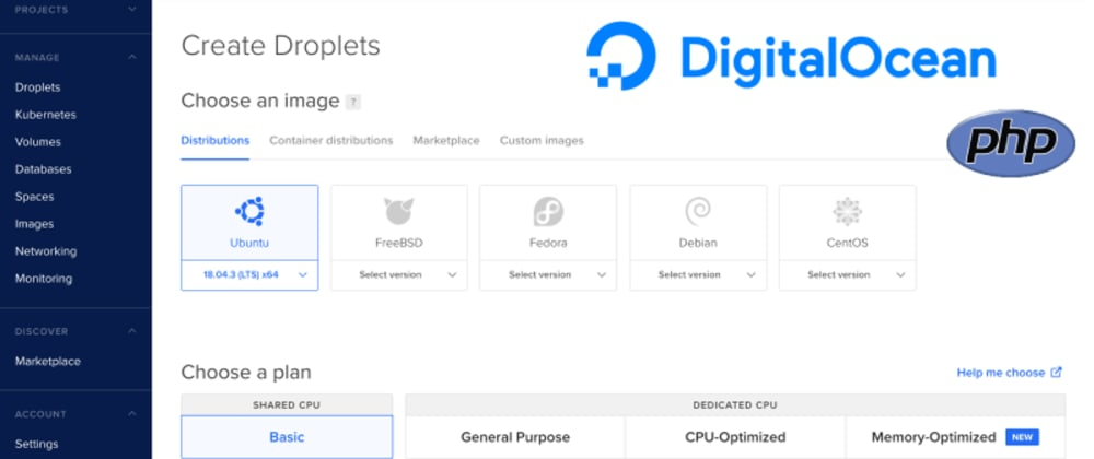 Cover image for Exploring DigitalOcean Droplets And Using Them For Creating A PHP Environment