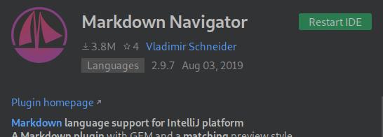 markdown navigator