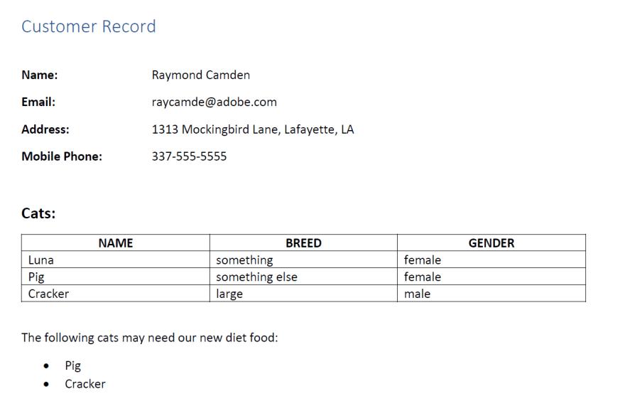 PDF Cat Owner result