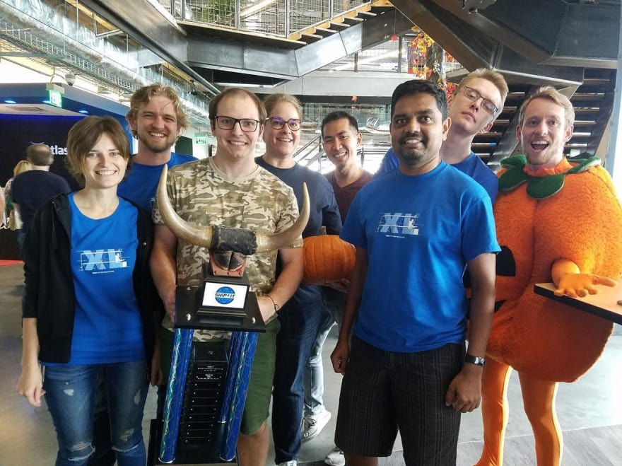 September 2017 - We Won Stride Award in Austin