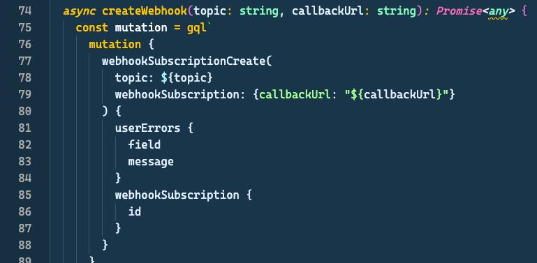 some cli typescript