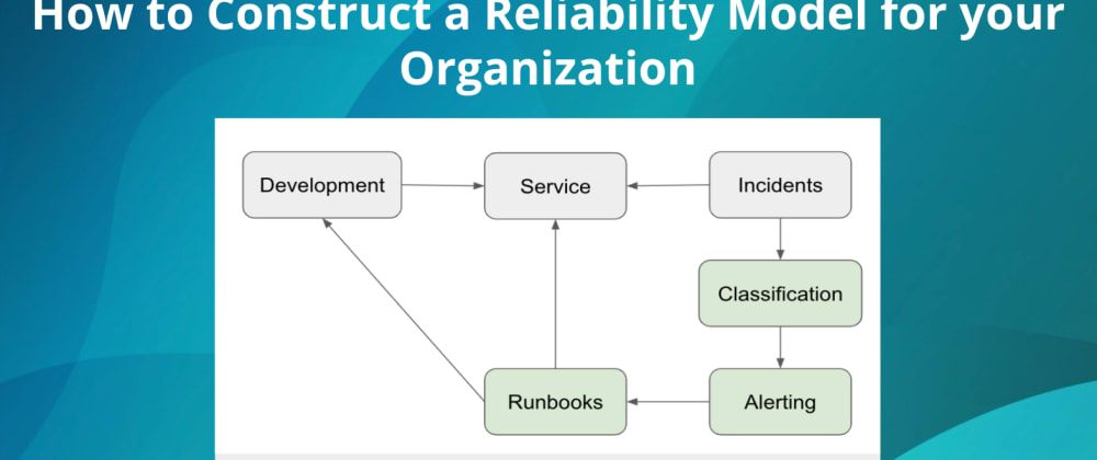 Cover image for How to Construct a Reliability Model for your Organization