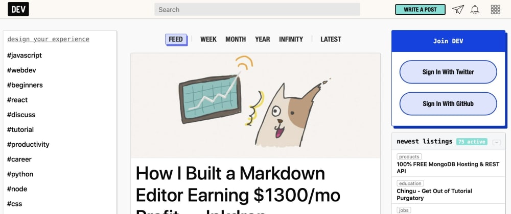 Cover image for Small tip on how to get your article covered on dev.to