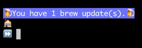 Brew Updates