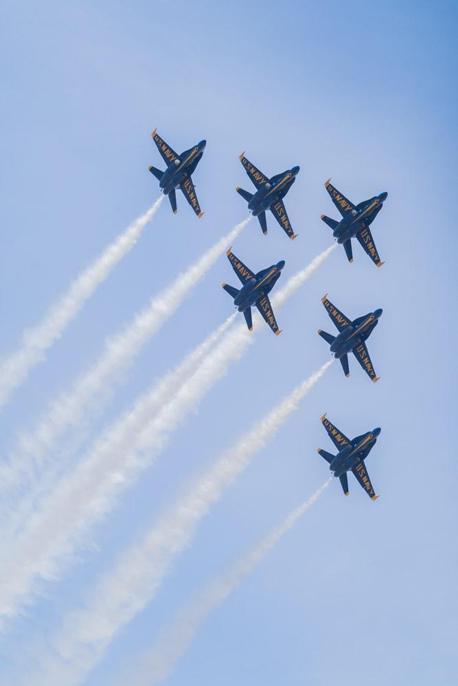 Blue Angels in Seattle