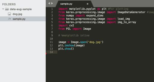 image processing folder structure