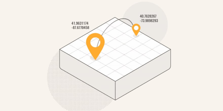 nearby location in laravel