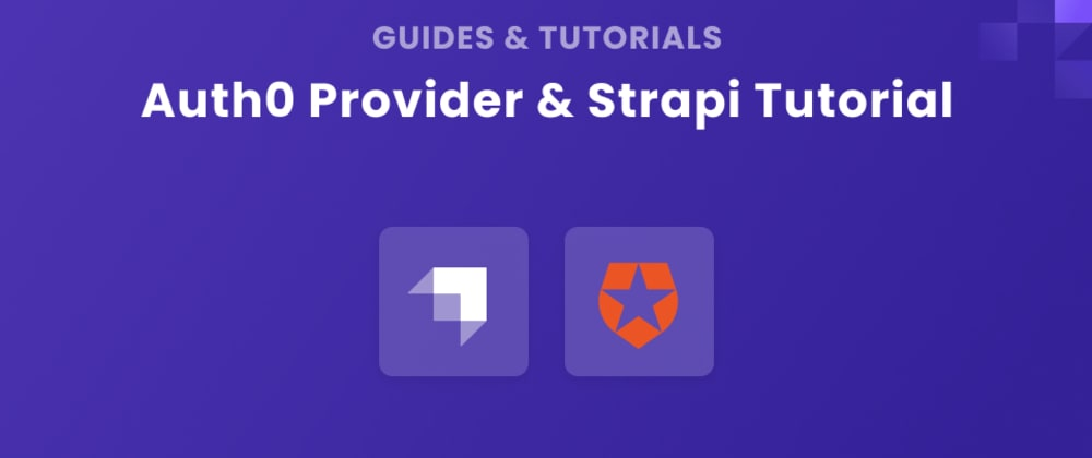 Cover image for Auth0 Provider and Strapi Tutorial