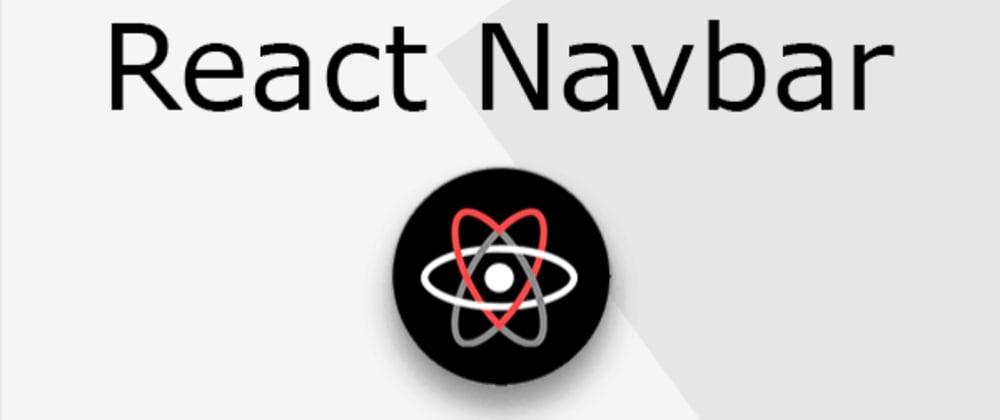 Cover image for sticky navbar on scroll reactJS