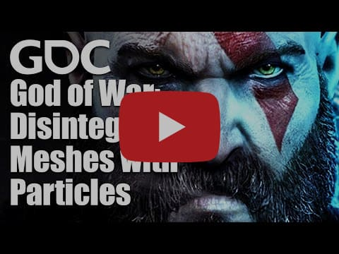 Disintegrating Meshes with Particles in 'God of War'