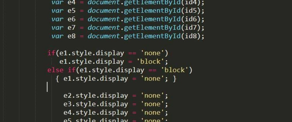 Cover image for The best examples of bad code I've come across production mode.