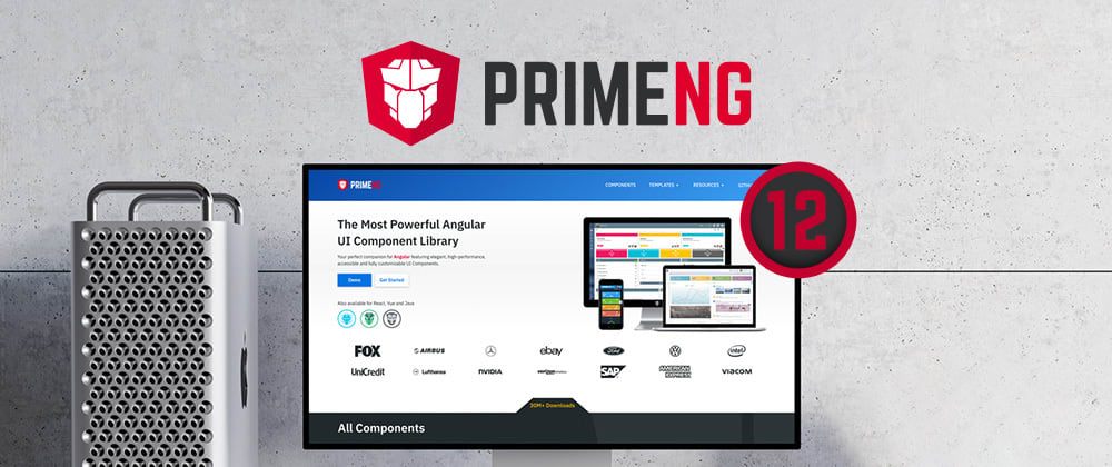 Cover image for PrimeNG v12.0.0 is here!