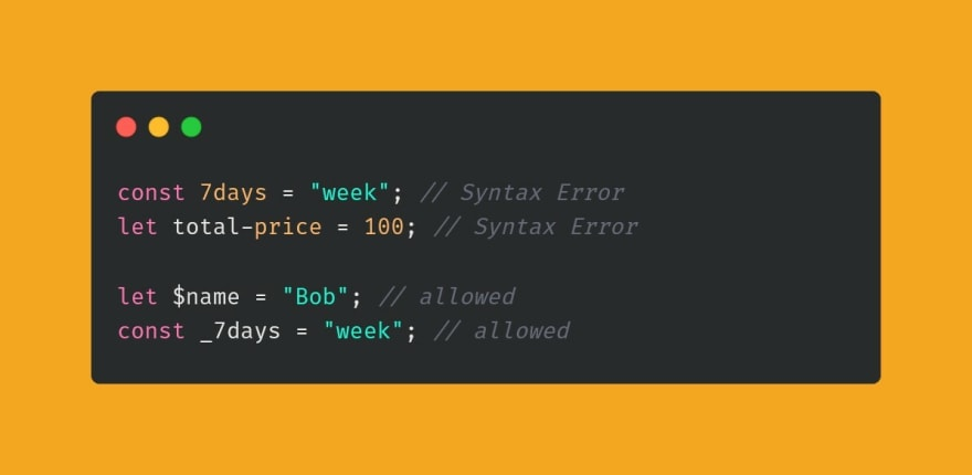 Variable names not allowed by JavaScript example